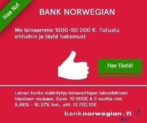 Bank Norwegian bank norwegian mainos 1