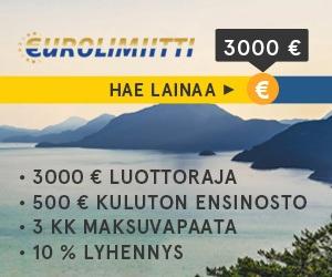 Eurolimiitti eurolimiitti mainos 1